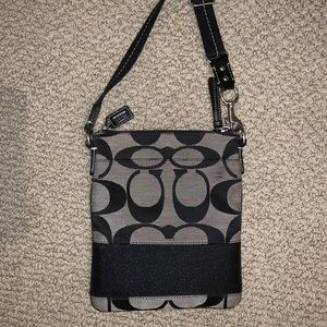 COACH side purse black